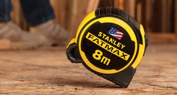 The new STANLEY® FATMAX® tape measure