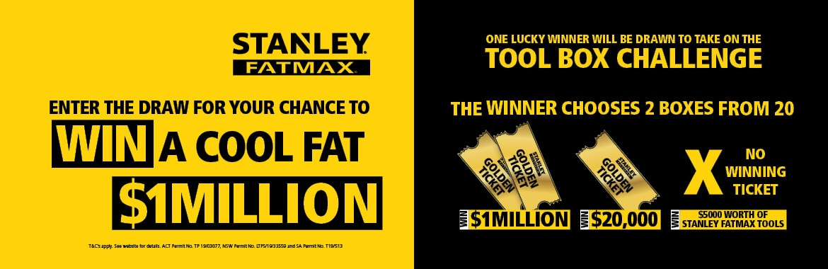 FOR A CHANCE TO WIN A COOL FAT MILLION
