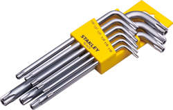 7 PC Short Spheric-head Hex Key Set
