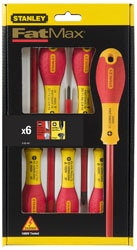 FatMax® 6 piece Insulated Slotted Phillips set
