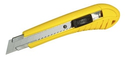 Snap Off Blade Knife - Self Locking - 18 mm