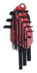 8-Piece Hex Key Set 1,5 - 6mm