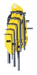 8-Piece Hex Key Set 1/16 - 1/4