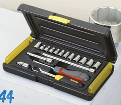 17-Piece 1/4'' Micro Tough Socket Set