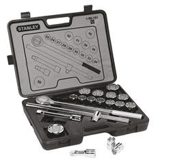 "19 Piece 3/4"" Drive Socket Set"
