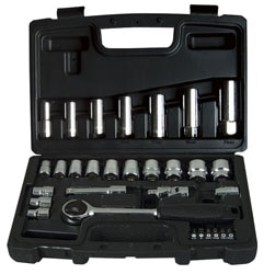 24 PCS 3/8 DRIVE METRIC SOCKET SET