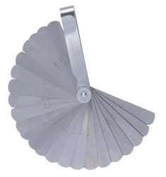 25 Blades Feeler Gauge - Metric