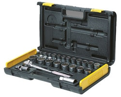 "27-Piece Socket Set - 1/2"" Drive"