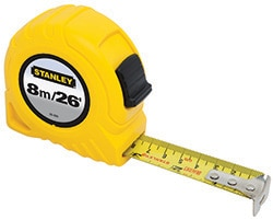 New STANLEY® Global Tapes
