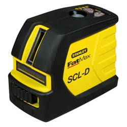 SCL-D - Beam self-levelling cross line laser with plumb
