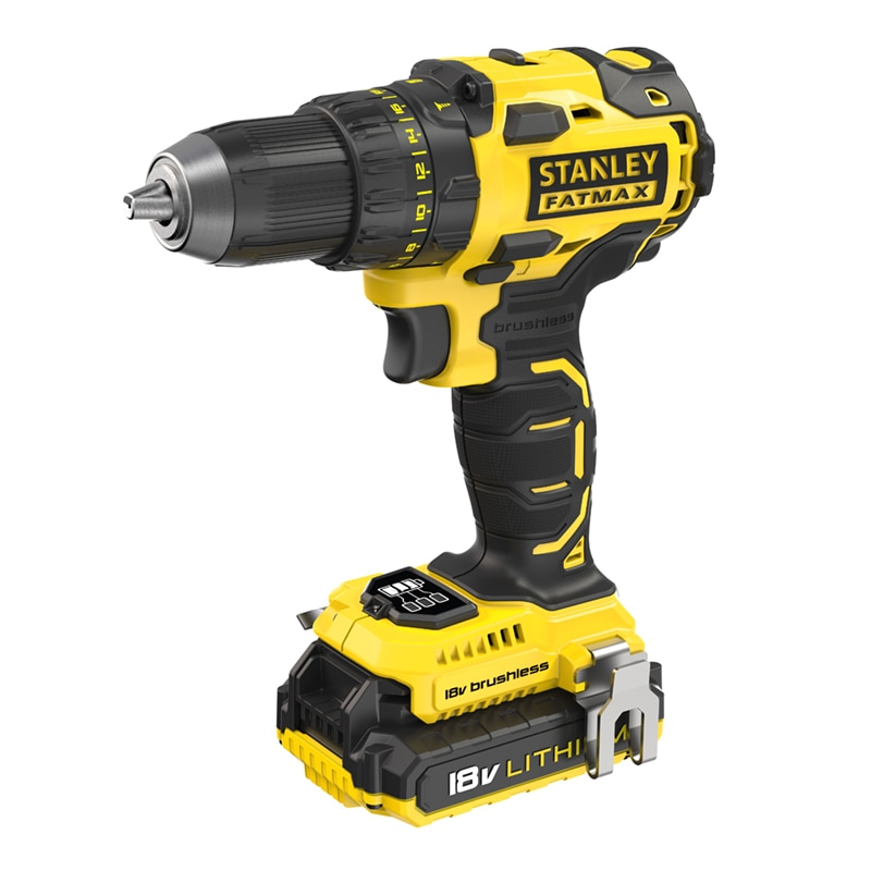 18V FATMAX® 2.0AH Brushless Drill Driver