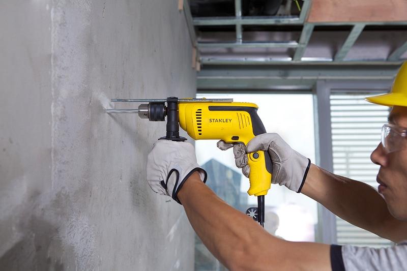 Stanley Power Tools Drills Hammer Drills 650w 13mm