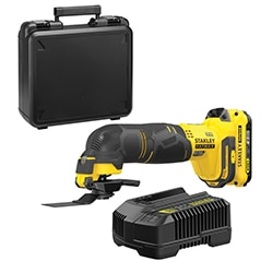 18V STANLEY® FATMAX® V20 Multi Material Cutting Tool with 1 x 2.0Ah Lithium-Ion battery and Kit Box