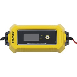 STANLEY® 12V 8A BATTERY CHARGER WITH POWER SUPPLY MODE AND MAINTAINER