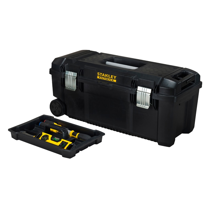stanley | products | storage | tool boxes | 28'' toolbox with wheels ...