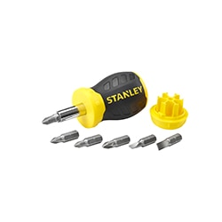 Stanley® Tournevis porte-embouts Stubby