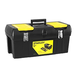 STANLEY® Series 2000 with 2 Built-In Organizers & Tray, Metal Latch