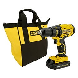 STANLEY® FATMAX® 18V 1.3Ah Li-Ion Drill Driver in Soft Bag