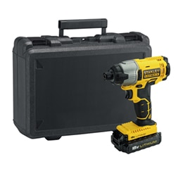 STANLEY® FATMAX® 18V 1.3Ah Li-Ion Impact Drill Driver in Kit Box