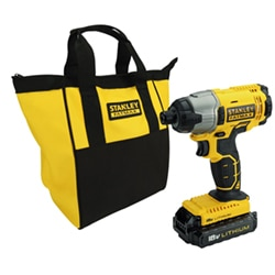 STANLEY® FATMAX® 18V 1.3Ah Li-Ion Impact Drill Driver in Soft Bag