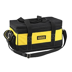 STANLEY® FATMAX® 2-en-1 Sac à outils rigide & double chargeur 18V