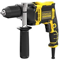 STANLEY® FATMAX® 750W 1 Gear Hammer Drill - Kitbox