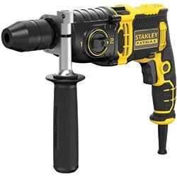 STANLEY® FATMAX® 850W 2 Gear Hammer Drill - Kitbox