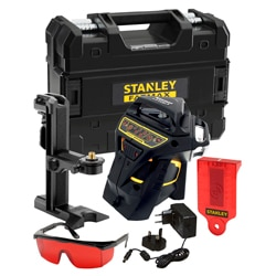 STANLEY® FATMAX® X3R Red Beam Multi-line 20/50m laser level