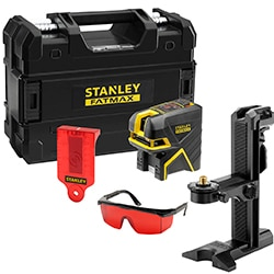 STANLEY® FATMAX® Cross Beam and 2 Spot Red Beam Laser Level
