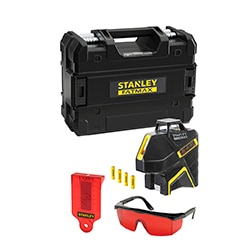 STANLEY®FATMAX® Laser 360° + 2 lignes verticales (ROUGE)