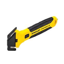 Coltello di sicurezza FATMAX® bi-material testina sostituibile - doppio taglio