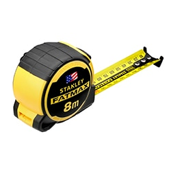 STANLEY® FATMAX® 8M Tape Measure