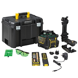 STANLEY® FATMAX® Rotary RL750L-G Li-Ion Green Beam Laser Level