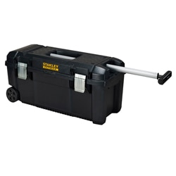 28'' Toolbox with wheels & pull handle