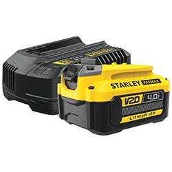 18V STANLEY® FATMAX® V20 4.0Ah Starter Kit (SFMCB14M1)