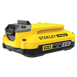 18V STANLEY® FATMAX® V20 2.0Ah Lithium-Ion Battery (SFMCB202)