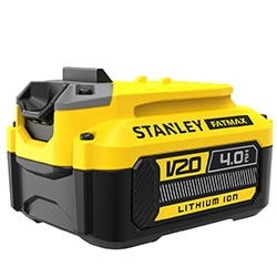 18V STANLEY® FATMAX® V20 4.0Ah Lithium-Ion Battery (SFMCB204)