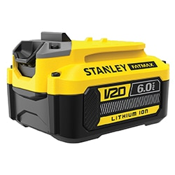 18V STANLEY® FATMAX® V20 6.0Ah Lithium-Ion battery (SFMCB206)