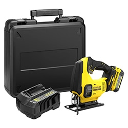 18V STANLEY® FATMAX® V20 Jigsaw with 1 x 4.0Ah Lithium-Ion Battery and Kit Box