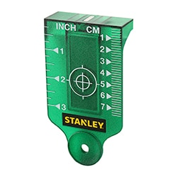 STANLEY® Green Target plate