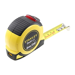 STANLEY® Tylon™ DualLock™ 8M/26' (25mm wide) Tape Measure