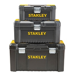 STANLEY® Essential™ toolbox with metal latches