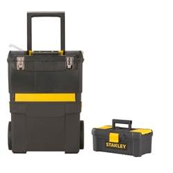 """Taller móvil 2 en 1 + caja de herramientas essential 12,5""""/32cm"""