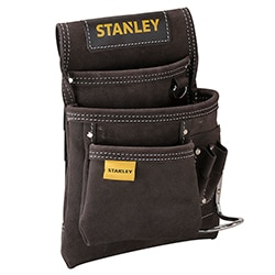 STANLEY® Leather Nail and Hammer Pouch