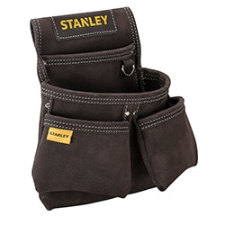 STANLEY® Leather Double Nail Pocket Pouch