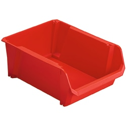 STANLEY® Lagersichtkasten  4 Rot