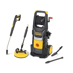 STANLEY® FATMAX® 2500W Electric Pressure Washer with Deluxe Patio Cleaner
