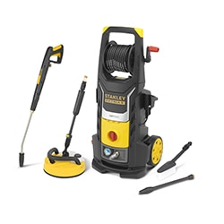 STANLEY® FATMAX® 2800W Electric Pressure Washer with Deluxe Patio Cleaner