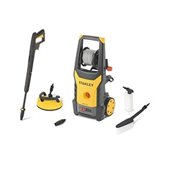 STANLEY® 1800W Electric Pressure Washer with Deluxe Patio Cleaner and Fixed Brush