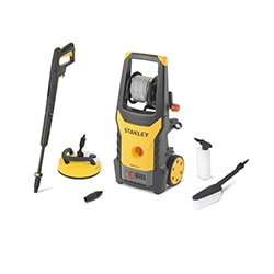 STANLEY® 1900W Electric Pressure Washer with Deluxe Patio Cleaner and Fixed Brush